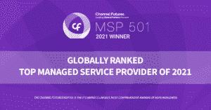Channel Futures MSP 501 winner 2021