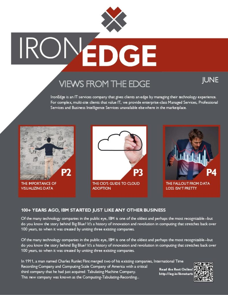 Andrew Moore, Author at IronEdge Group, LTD - Page 4 of 6