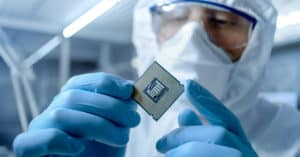 Worker holding CPU