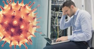 IT service professional overwhelmed